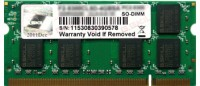 G.Skill SQ DDR2 2 GB (1 x 2 GB) Laptop RAM (F2-6400CL5S-2GBSQ): RAM