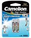 Camelion LR3-BP2 (AAA Alkaline) Alkaline Battery