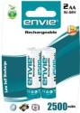Envie 2 X AA 2500 MAh Ni-Mh Ni-Mh Rechargeable Batteries