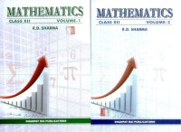 Mathematics for Class 12 (Set of 2 Volumes): Regionalbooks