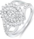 Mahi Springfields Brass, Alloy Zircon Ring