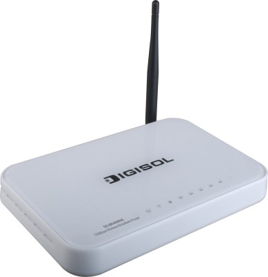 Buy Digisol 150 Mbps Wireless Green Broadband Router: Router