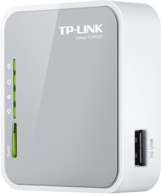 Buy TP-LINK TL-MR3020 Portable 3G/3.75G/4G Wireless N Router: Router