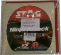 Stag Ninja Attack 2 Mm Table Tennis Rubber - Red