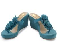 Sole Fry Juliet Wedges: Sandal