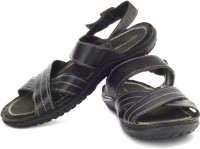 Hush Puppies Decode Leather Casual Sandals: Sandal