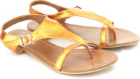 DONE BY NONE The Impressionist Flats: Sandal