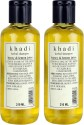 Khadi Herbal Honey & Lemon Juice Shampoo Pack Of 2 - 210 Ml
