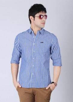 Compare Lee Men Striped Casual Shirt: Shirt at Compare Hatke