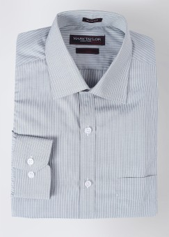 Mark Taylor Men's Striped Shirt