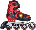 Nivia Cat Club In-Line Skates - Size 39 - 42 Euro - Red, Black