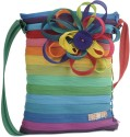 Use Me Rainbow Daisy Large Sling Bag - Multi-color