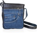 Hibiscus Fusion3 Small Sling Bag - Dark Brown-Blue-05
