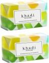 Khadi Mix Fruit Soap - Pack Of 2 - 125 G