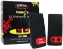 Zebronics Harmony S320 2 Channel Multimedia Speakers - Black