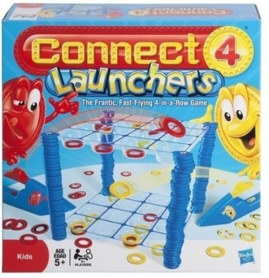 Buy Funskool Connect 4 Launchers: Spin Press Launch Toy