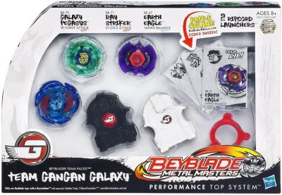 Buy Beyblade Team Pack Gan Gan Galaxy: Spin Press Launch Toy