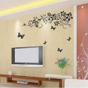 WOW Wall Sticker TV Background Model Wall PVC Removable Sticker