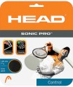 Head Sonic Pro 1.25 Mm Tennis String - 12 M - Black