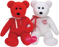 Ty Beanie Babies-I Love You Bear Pair  - 5 inch: Stuffed Toy