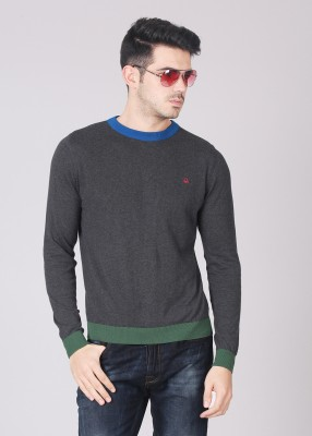 United Colors of Benetton Solid Round Neck Casual Men's Sweater