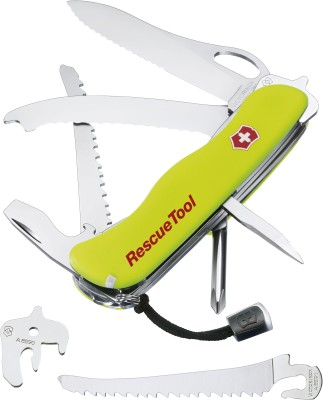 Buy Victorinox Rescue Tool Swiss Knife - 2 at Rs. 4389.00 from Flipkart