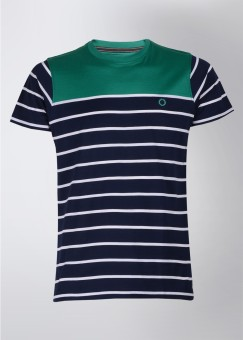 Compare Proline Round Neck Striped Men T-shirt: T-Shirt at Compare Hatke
