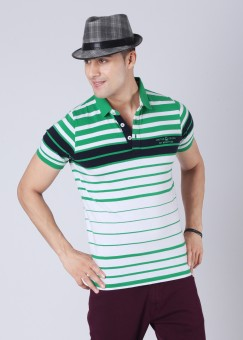 Compare United Colors of Benetton Polo Striped Men T-shirt: T-Shirt at Compare Hatke