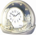 Rhythm 4SE443WR18 Analog Clock - Gold