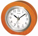 Rhythm CRE203NR06 Analog Clock - Brown