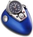 GoGifts Motor Bike Mini Tank Analog Clock - Blue