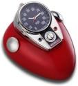 GoGifts Motor Bike Mini Tank Analog Clock - Red