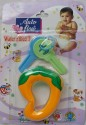 Love Baby Auto Flow Water Filled Toy Teether - Mango - Multi-color