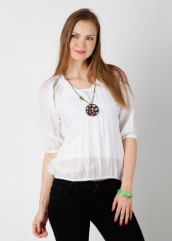 Compare Noi Solid Women Top: Top at Compare Hatke