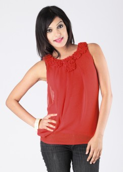 Compare The Vanca Solid Women Top: Top at Compare Hatke
