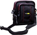 Walletsnbags Rhythm Multipurpose Sling Pouch - Black- Wp 6