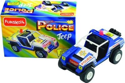 Buy Funskool Police Jeep: Vehicle Pull Along