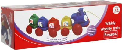 Buy Funskool Wibbly Wobbly Train: Vehicle Pull Along
