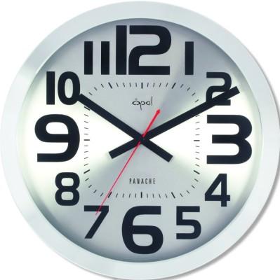 Opal Aluminium Case Clock Analog Wall Clock - 4692