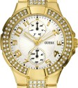 Guess Mini Prism Analog Watch  - For Women - Gold
