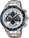 Casio Edifice Analog Watch  - For Men - Silver