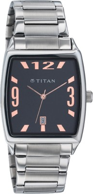 Buy Titan Formal Steel Analog Watch  - For Men: Watch