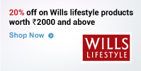 Get 20% off on Wills Lifestyle products worth Rs 2,000